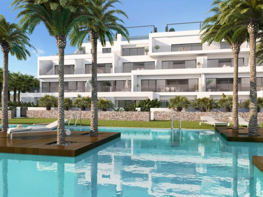 Exclusive Las Colinas Golf & Country Club Apartments offering views of the surrounding countryside to the sea