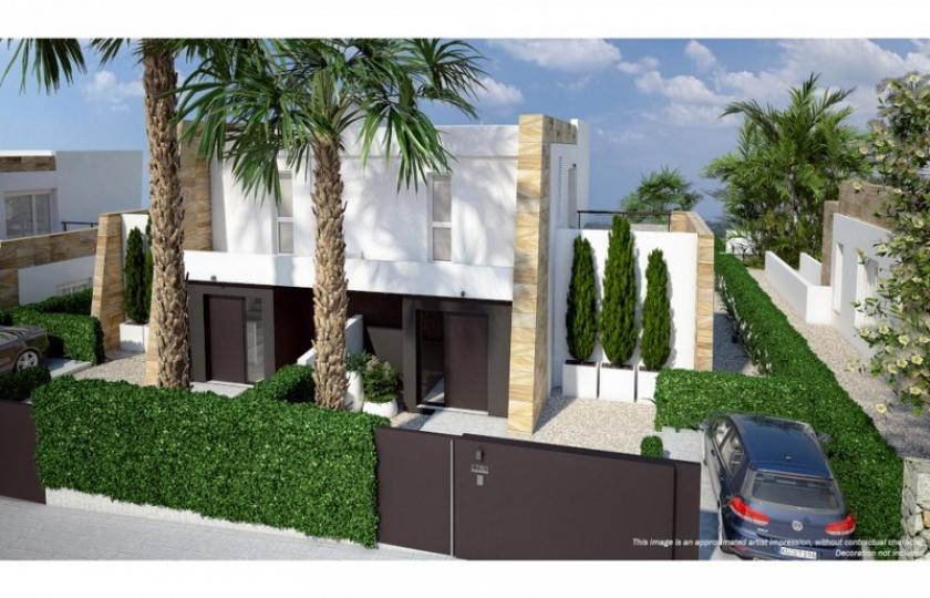 Contemporary 3 Bedroom, 2 Bathroom Semi-Detached Townhouses offering stunning views, located within La Finca Golf & Spa Resort