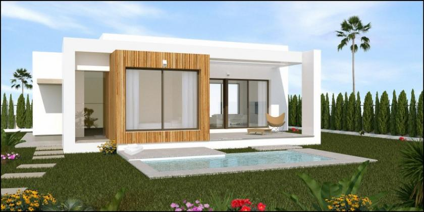 A choice of 2 different style 3 bedroom, 2 bathroom detached villas on a private 18 hole Golf development