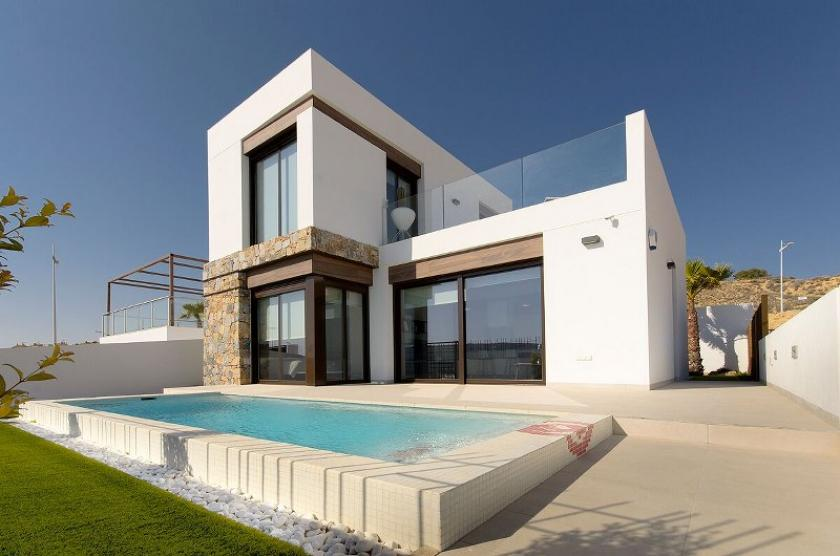 Modern 3 Bedroom Detached Villas, with Private Pool, Roof Terrace and Garden