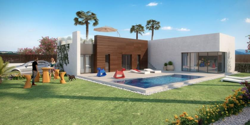 Beautiful 3 Bedroom Detached Villas, with Private Infinity Pool, Roof Terrace and Garden, overlooking the 2nd hole of a Championship 18 hole Golf Course